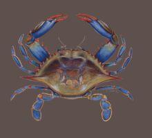 Blue Crab (Callinectus sapidus) One Piece - Short Sleeve