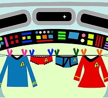 Star Treck Laundry by Sonia Pascual