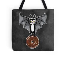 Bat and Donut Tote Bag