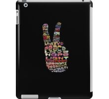 Peace tshirts iPad Case/Skin