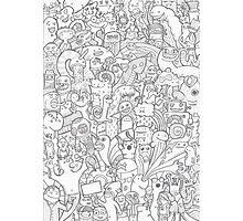 Doodle Photographic Print