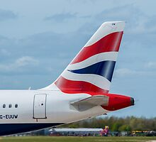 British Airways Airbus A320 tail livery by Russell102