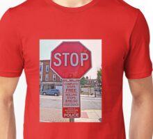 STOP - THEN START Unisex T-Shirt