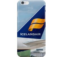 Icelandair Airlines Boeing 757 tail livery iPhone Case/Skin
