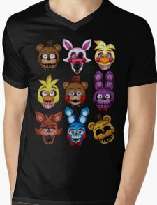 Five Nights Mens V-Neck T-Shirt
