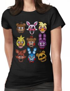 Five Nights Womens Fitted T-Shirt
