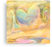 LOVE IS A MANY SPLENDORED THING- ABSTRACT  Art + Products Design  Canvas Print