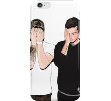 twenty one pilots digital art iPhone Case/Skin