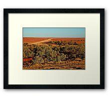 North Creek, Oodnadatta Track, Outback South Australia Framed Print