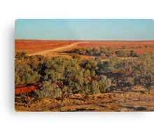 North Creek, Oodnadatta Track, Outback South Australia Metal Print