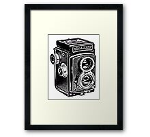 Rolleicord Twin Reflex Camera Framed Print
