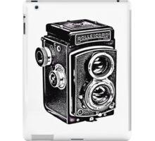 Rolleicord Twin Reflex Camera iPad Case/Skin