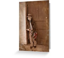 He Is Still Waiting Greeting Card