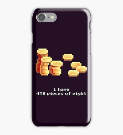 478 Pieces of eight iPhone Case/Skin