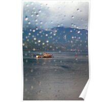 Through a Window Pane Poster