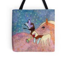 THE HORSE AND THE HOUND AND THE HORN Tote Bag