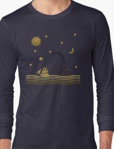 East of the moon... Long Sleeve T-Shirt
