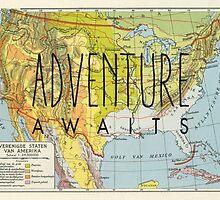 Adventure Awaits - USA by Hannahkaypiche