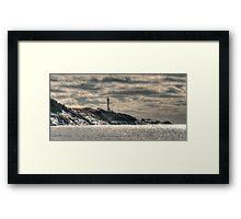 Ominous Lighthouse Framed Print