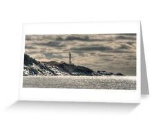 Ominous Lighthouse Greeting Card