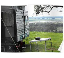 Camping at kingsview Poster