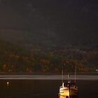 Autumn Evening - Howe Sound by Carl Olsen