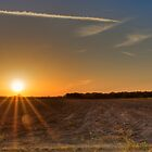 Farmland Sunset by njordphoto