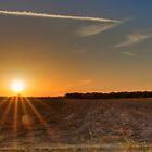 Farmland Sunset by njordphoto