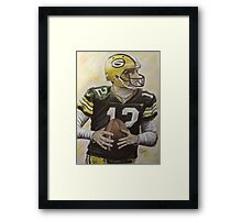 Aaron it out Framed Print