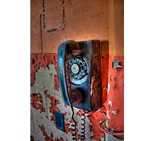Hot Line Photographic Print