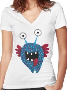 Blue Angel T-shirt Women's Fitted V-Neck T-Shirt