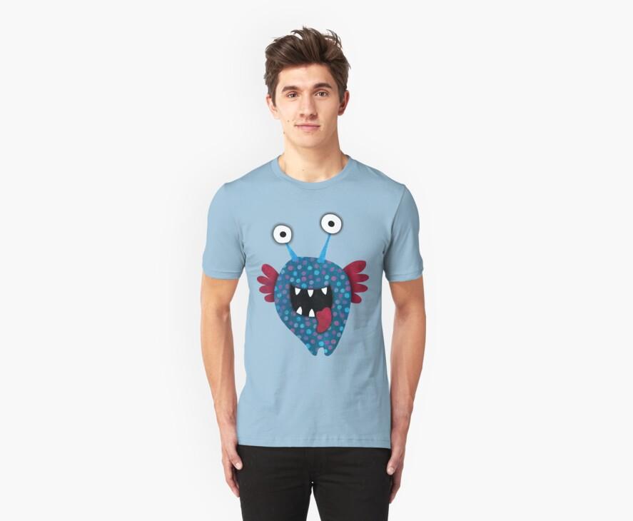 Blue Angel T-shirt by sandygrafik