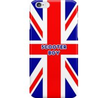 Mod Scooter Boy by 'Chillee Wilson' iPhone Case/Skin