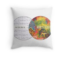 Science Art Wonder Throw Pillow