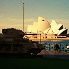 Opera House and little Tank by Juilee  Pryor