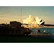 Opera House and little Tank Photographic Print