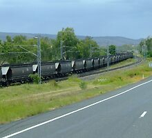 Coal Train by PhoenixArt