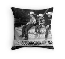 Broncos and Bulls # 6 Throw Pillow