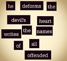 Deforms The Devils Heart by newageamazon