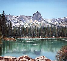 Crystal Crag, Mammoth CA by arline wagner