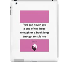 On Books - C.S. Lewis iPad Case/Skin