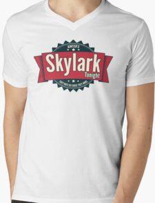 Skylark Tonight Ainter's Mens V-Neck T-Shirt