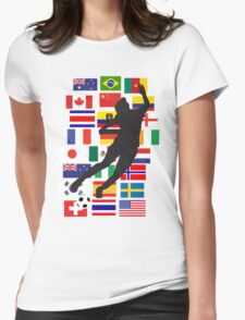 WWC - 24 teams Womens Fitted T-Shirt
