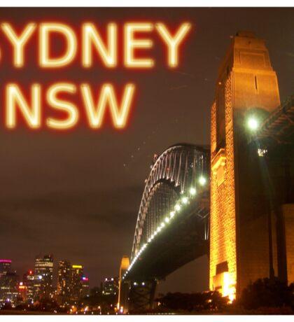 Sydney NSW Sticker