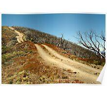 The Climb,Blue Rag Track Poster