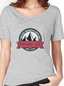 Outlast - Mount Massive Asylum Crest Women's Relaxed Fit T-Shirt