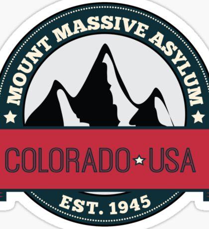 Outlast - Mount Massive Asylum Crest Sticker