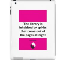 On Books - Isabel Allende iPad Case/Skin