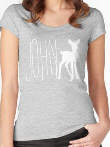 John Doe Women's Fitted Scoop T-Shirt