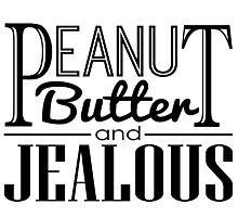 Peanut Butter & Jealous Photographic Print